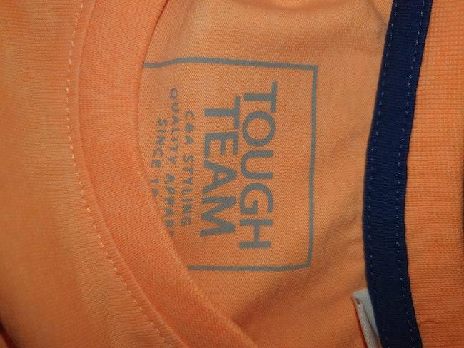 T-shirt orange flashy