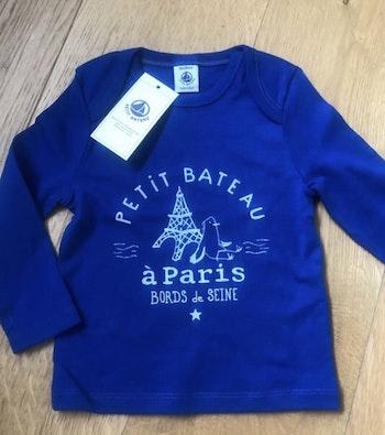 T-shirt Petit Bateau 18 mois neuf