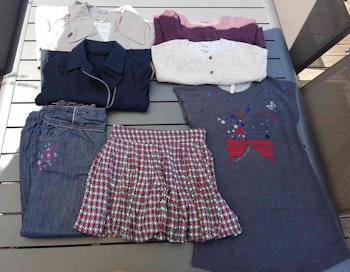 Lot de vêtements fille 8 ans