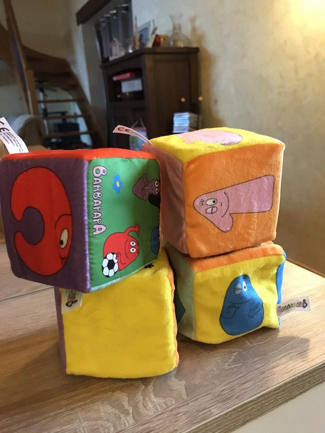 Cube tissu