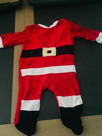 Déguisement pyjama père Noël