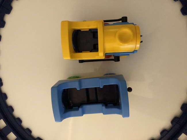 Train playmobil 1.2.3
