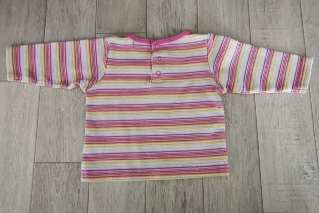 T shirt manches longues rayé Tissaia 6 mois