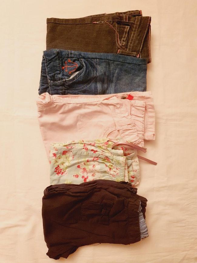 Lot de 5 pantalons