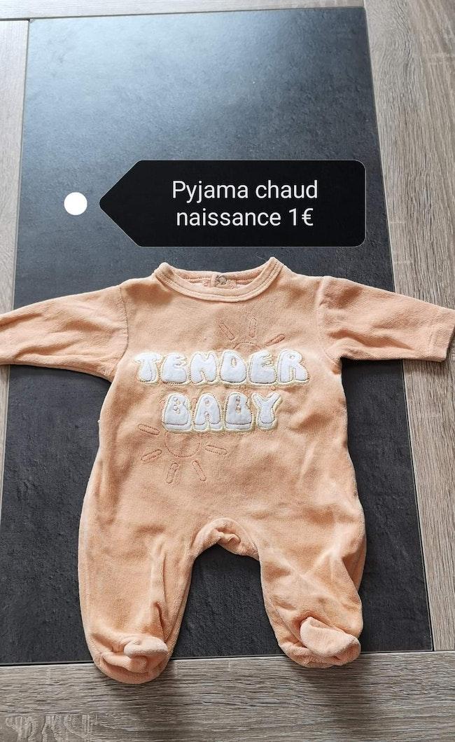 Pyjama naissance / 1 mois