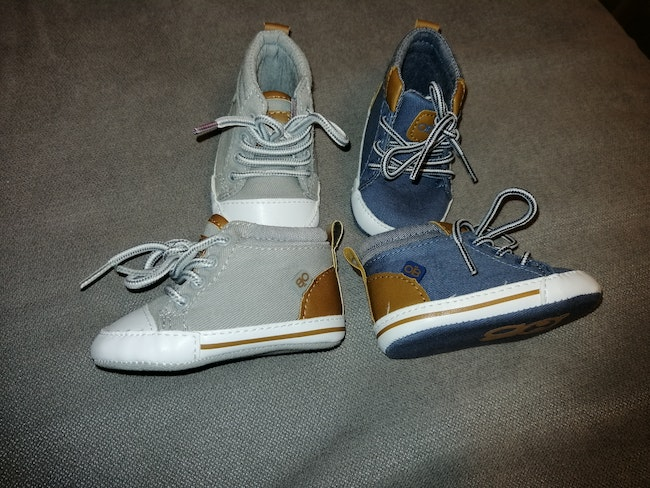 Lots chaussures obaibi 0 3 mois