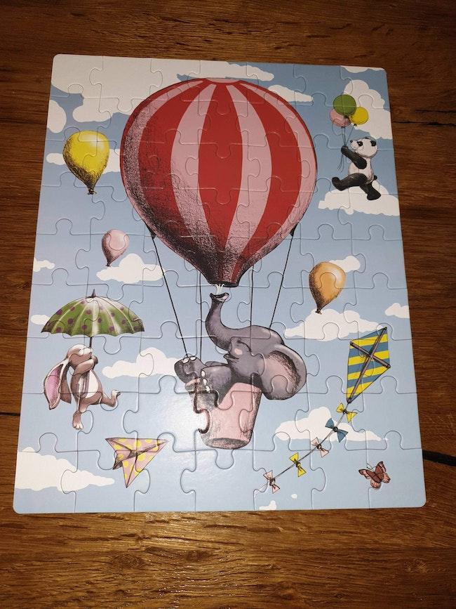 Puzzle animaux dans les airs