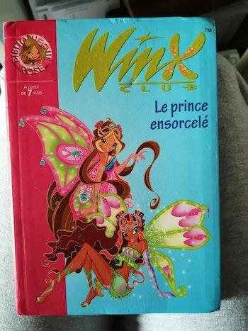 """Livre """"Les Winx 'le prince ensorcelé'"""""""