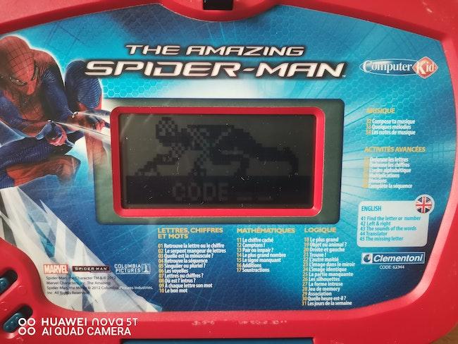 Ordinateur Spiderman