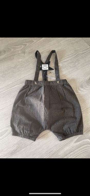 Bloomer a bretelle bout Chou taille 9 mois neuf
