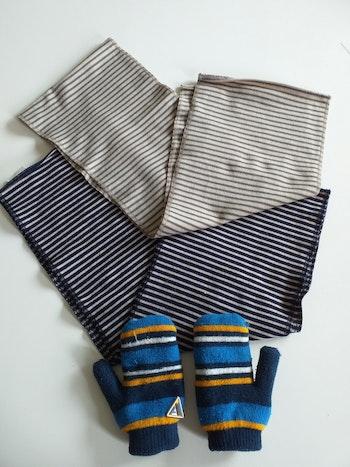 Gant + écharpe