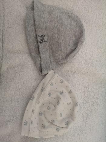 Lot de 2 bonnets Petit Bateau