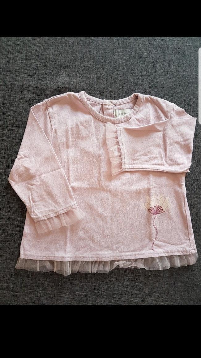 Tee-shirt ML enfant fille 18 mois