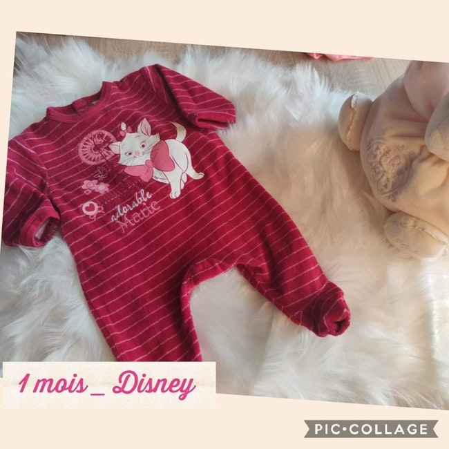 Pyjamas 1 mois Disney