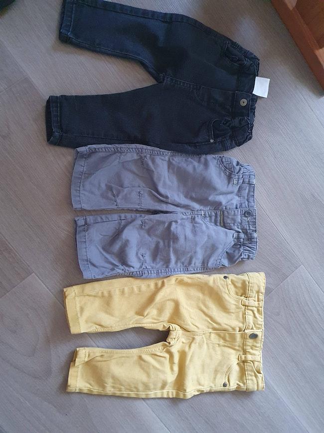 Lots de 3 pantalon 6 mois