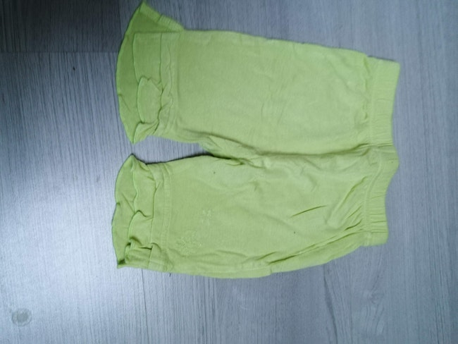 Leggings vert 9 mois