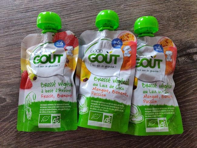 Lot de 3 brassés végétales good gout