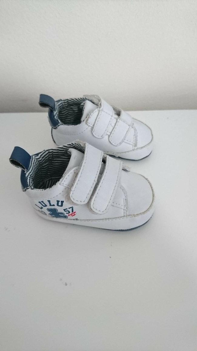 Basket blanc lulu castagnette bébé 0/3 mois