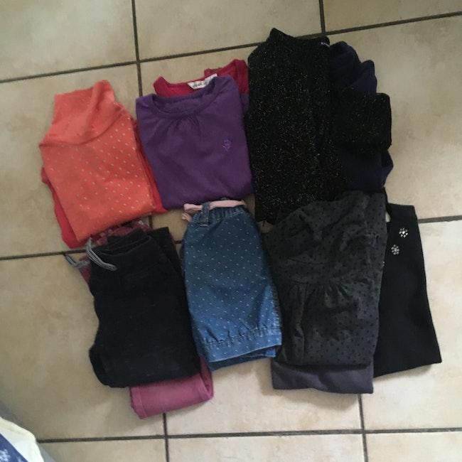 Lot vêtements hiver fille