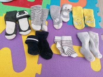7 paires chaussettes