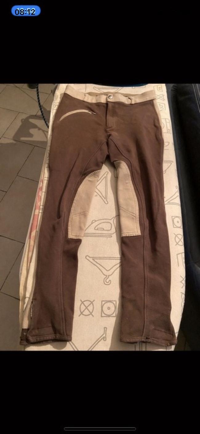 Pantalon marron et beige Sierra