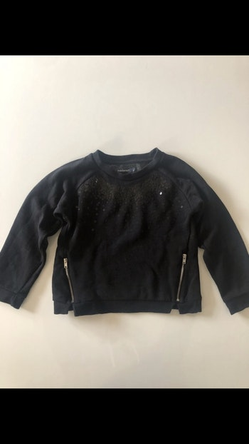 Pull fille In extenso