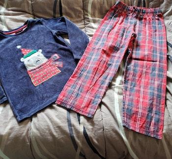 pyjama velour/coton Sergent major 7ans