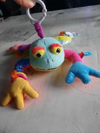 La grenouille a suspendre