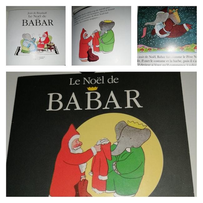 Mini livre Le Noël de Babar Vintage