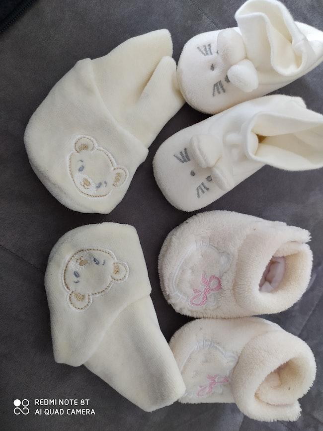 Patin fille 1-3 mois
