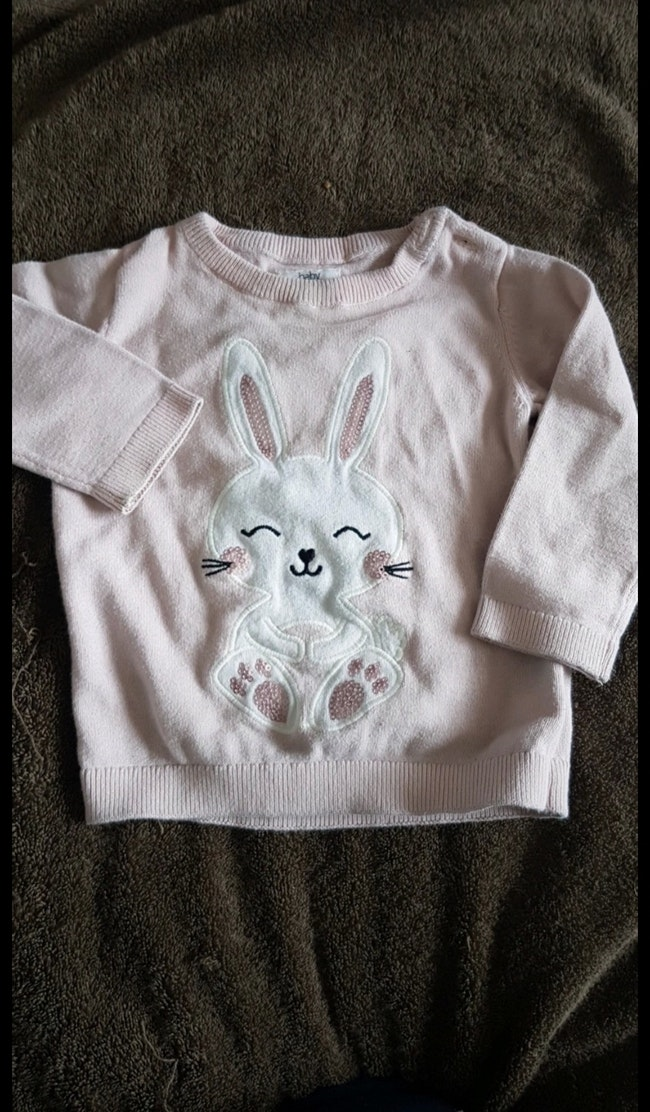 Pull fin lapin 9 mois