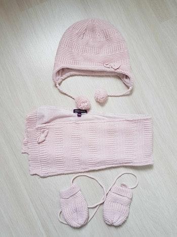 Bonnet écharpe gants bébé 12 18 mois