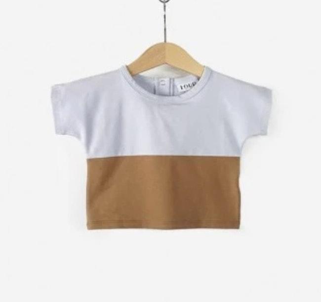 T-shirt multicolore 6 mois