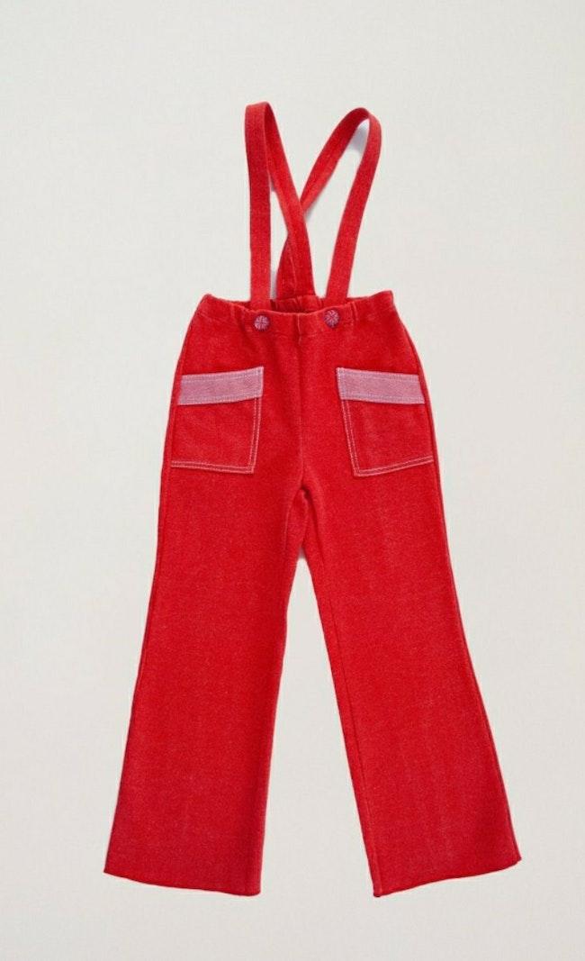 "Pantalon à bretelles ""Beatles"" / 5 ans"