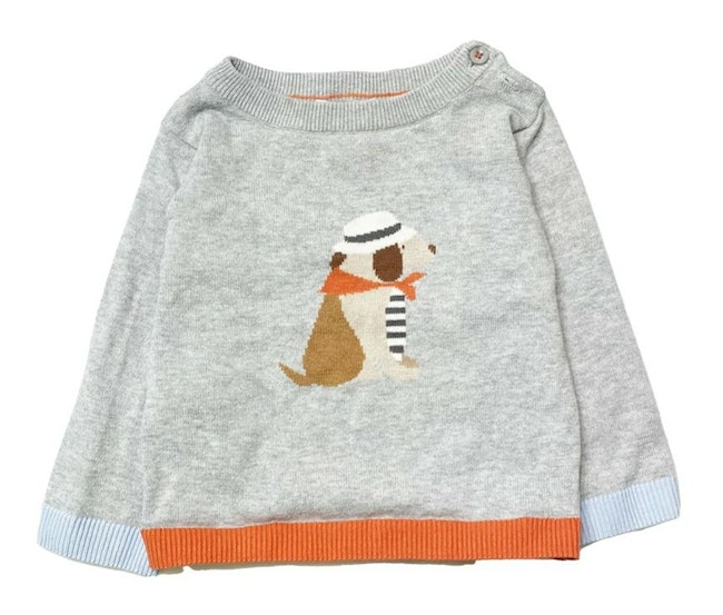 Pull gris 18 mois