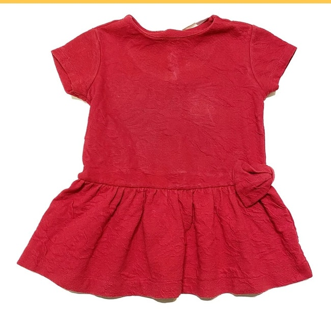 Robe rouge 18 mois