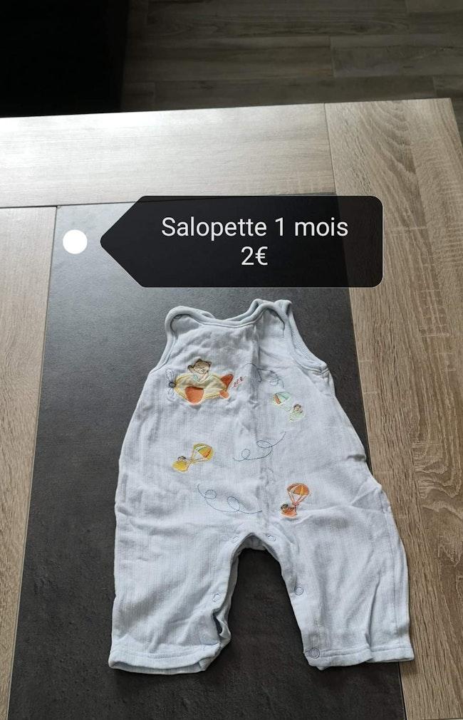 Lot vêtements 1 mois