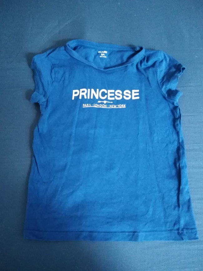Lot tee shirt manches courtes