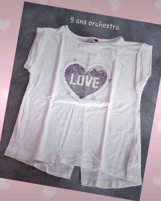 T-shirt 5 ans orchestra