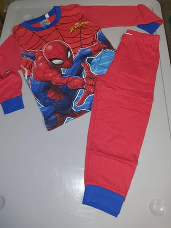 Pyjama spiderman rouge 8 ans