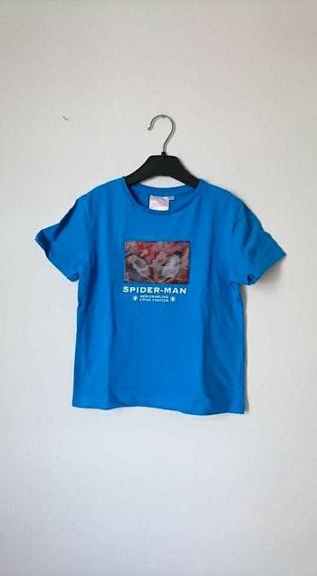 Tee shirt bleu spiderman Marvel 6 ans
