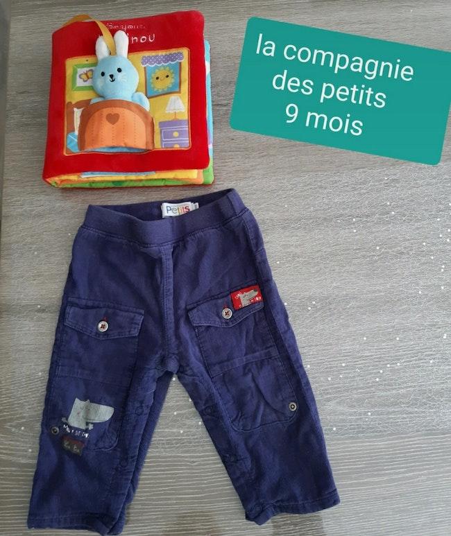Pantalon 9 mois la compagnie des petits
