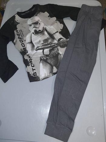 Pyjama star wars noir 10 ans