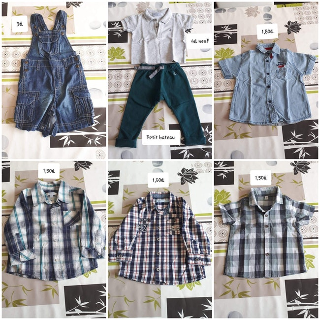 Vêtements 12 mois garçon