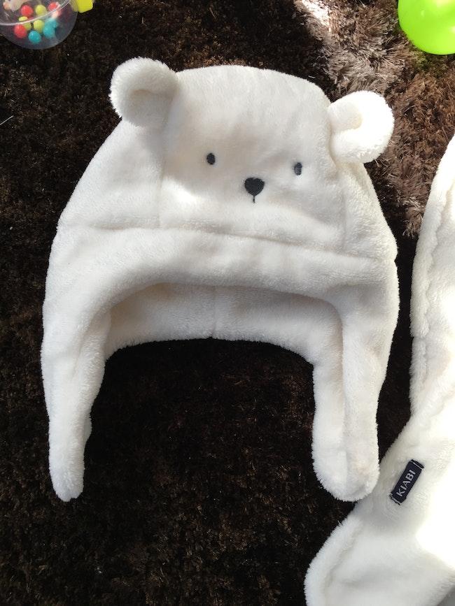 Ensemble bonnet écharpe moufle