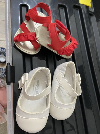 Lot de 2 paires de chaussures 15-16 mayoral
