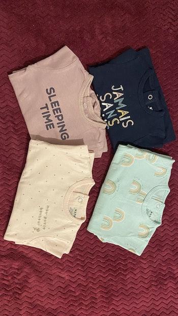 lot 4 pyjamas Kiabi