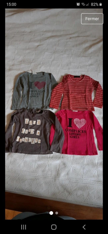 Lot 5 tee-shirts manches longues 3ans