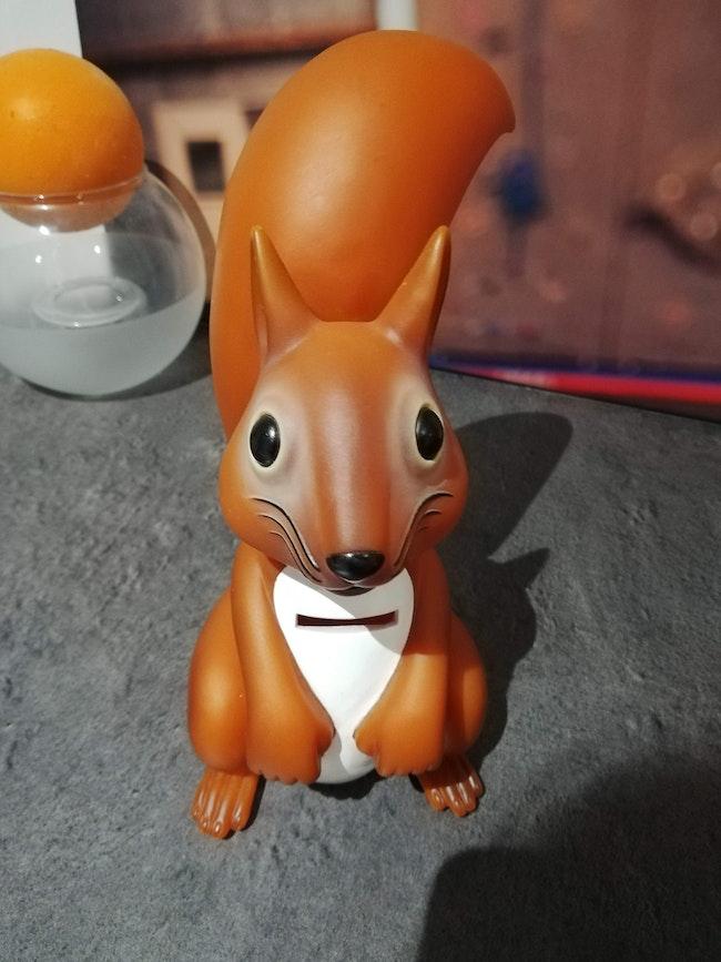 Tirelire écureuil