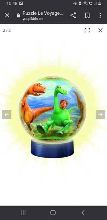 Lampe puzzle 3D